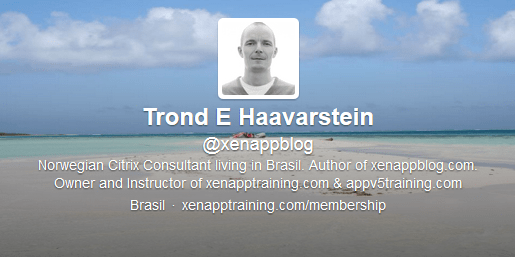 Twitter Profile About