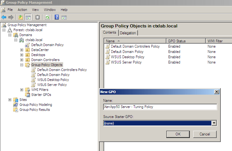 how to open gpmc in windows xp