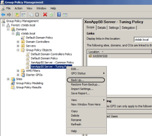 Group Policy Backup 01 300x268 How To Backup and Restore Group Policy