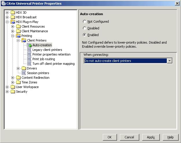 Citrix Universal Print Driver - The Working Setup - xenappblog