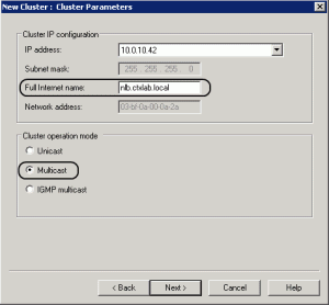 Network Load Balancing NLB 061 300x278 How to Load Balance Citrix Web Interface with NLB