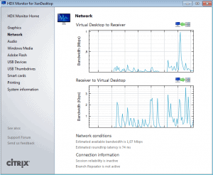 HDX Monitor for XenDesktop Network 300x246 HDX Monitor for XenDesktop   Better User Experience
