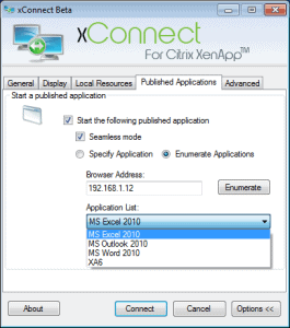 xConnect for Citrix XenApp 02 265x300 Remote Desktop Manager   The Best Applications