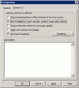 Map Network Drive Group Policy 02 270x300 Using Group Policy to hide and map specified drives
