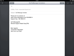 GoToManage Citrix iPad 7 300x225 Citrix GoToManage   iPad Remote Support