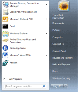 Pin Icons to Start Menu for All Users with GPO 01 255x300 Pin Icons to Start Menu for All Users with GPO