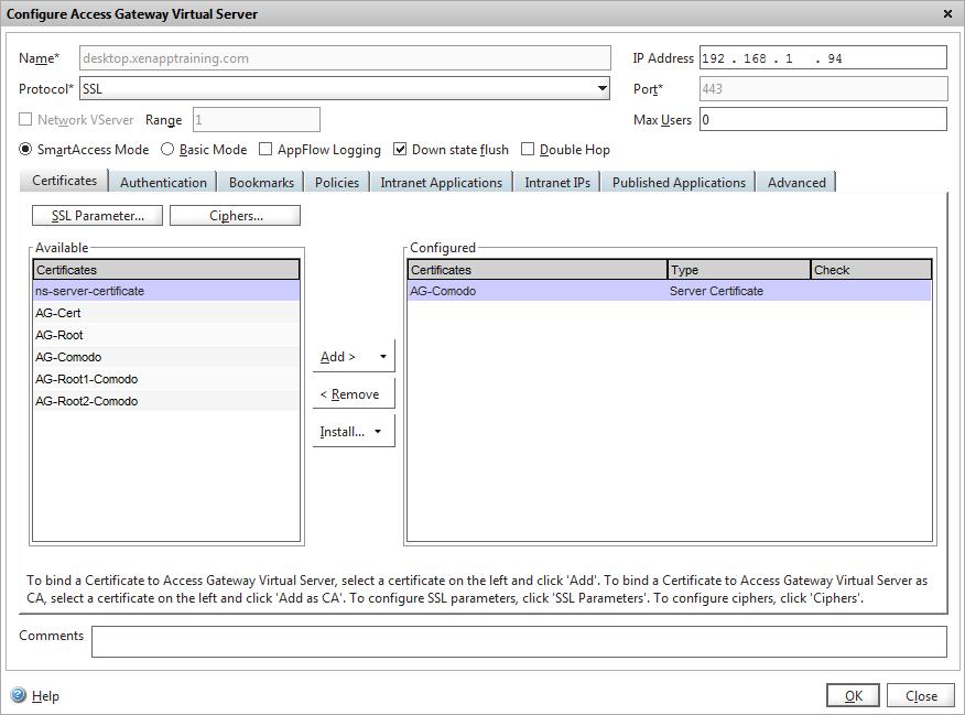 Netscaler Certificate The Fastest Way Xenappblog