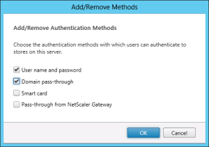 Citrix Receiver 4 with Domain Pass-Trough 05