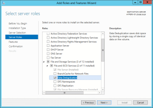 Windows 2012 Deduplication 02