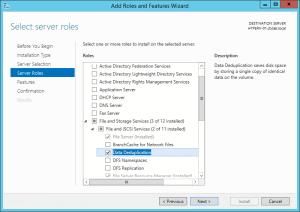 Windows 2012 Deduplication 02