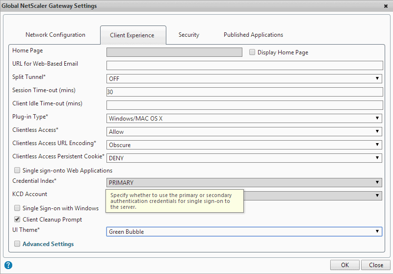 Netscaler Gateway and StoreFront Customization 02