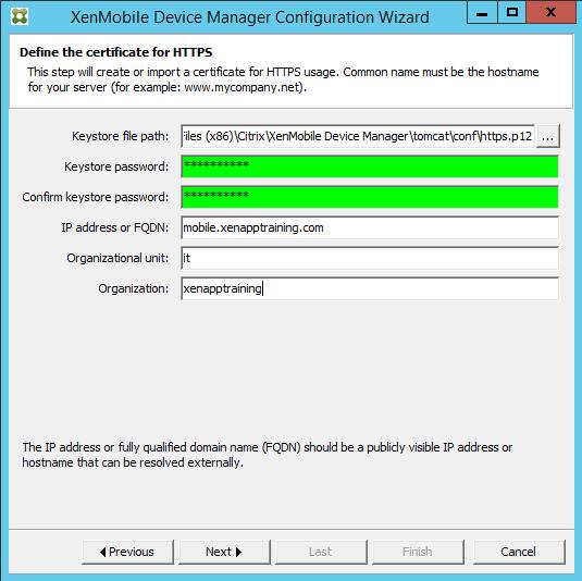 xenmobile certificate simplicity